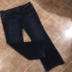 American Eagle slim boot jeans size women's 18
